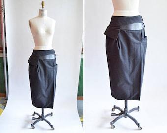 Vintage COMPLICE by VERSACE avante garde skirt
