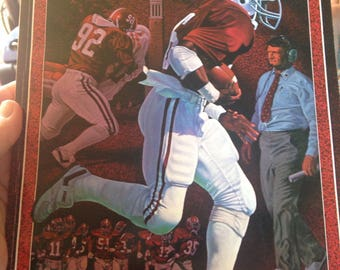 University of Alabama 1984 Media Guide Football Crimson Tide SEC