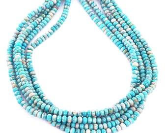 FOX MINE AMERICAN Turquoise Beads Rondelles