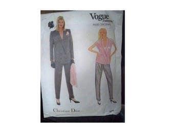 Vogue Pattern 1073 - Christian Dior Jacket - Uncut