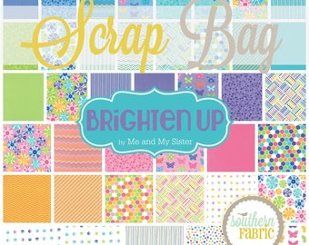 Brighten Up by Me and My Sister for Moda Scrap Bag Quilt Fabric Strips Remnants
