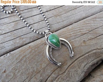 ON SALE Turquoise Naja necklace handmade in sterling silver 925 with Royston turquoise