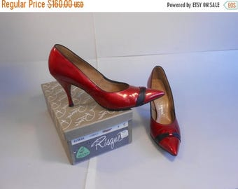 Red Patent Leather Etsy