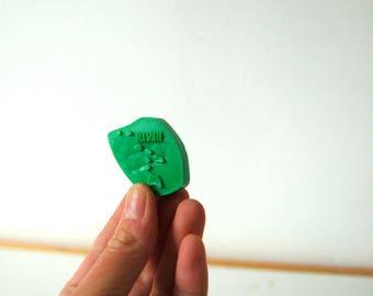 Hawaii Magnet - Vintage State Magnet - Hawaii State Souvenir - Plastic Magnet - Hawaii State Gift - United States Magnet Gift - Teacher Gift