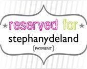 stephanydeland: Payment for Custom Masquerade Wedding Invitations