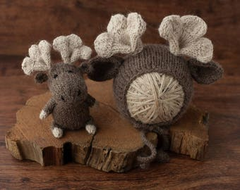 The Littlest Moose - Made To Order, Newborn Size