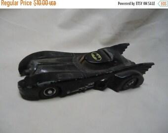 Back Open Sale Vintage 1989 Ertl Bat Mobile Toy Car, Batman, Dc Comics, collectable toy