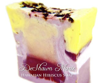 SOAP - 3lb Hawaiian Hibiscus Soap Loaf, Handmade Soap Loaf, Vegan Soap, Wholesale Soap Loaf
