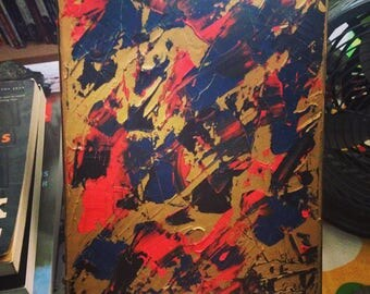 Flashes of Gold - Abstract Oil Painting
