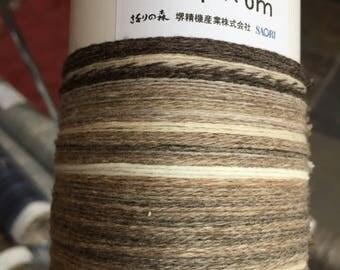"Saori ready made luxury ""Hazel"" cashmere warp 200 threads x 6m"
