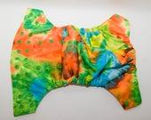 Neon Tie Dye Pul Cloth Diaper - One Size Cloth Baby Diaper - Cloth Diaper Cover - Pocket Diaper - Ai2 Diaper