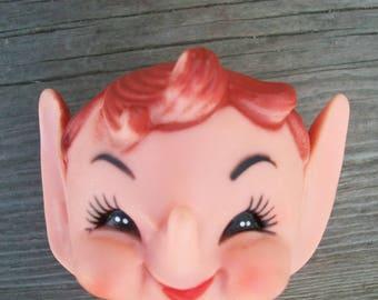 Rare Japan DAI Elf Pixie Doll Face