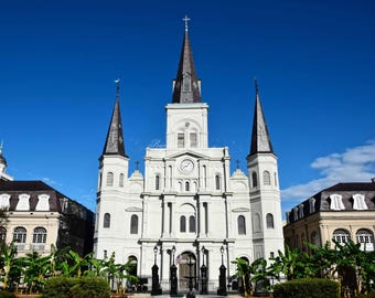 New Orleans- NOLA- French Quarter-Architecture- St. Louis Cathedral