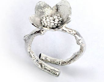 Large Blossom Cocktail Ring (R-LGBCT)