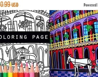 New orleans coloring Etsy