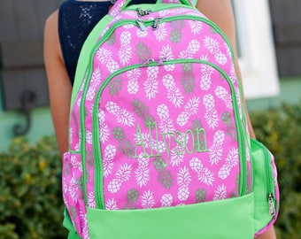 Monogrammed Backpack - MANY designs to choose from, preppy backpack, girl's backpack, youth backpack, personalized backpack