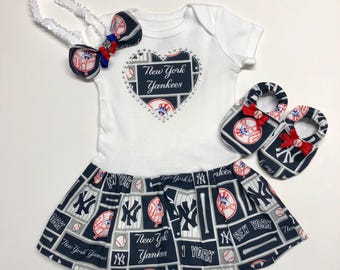 New York Yankees Inspired Baby Coming-Home Outfit