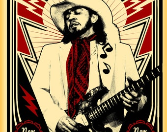 Stevie Ray Vaughan Tour Poster
