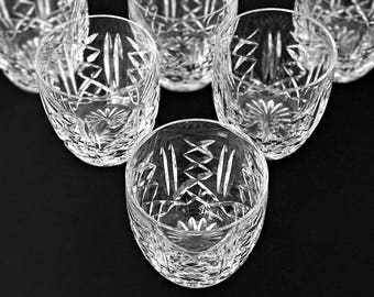 Waterford Crystal Barware Old Fashioneds Rocks Glasses Cocktail Glasses