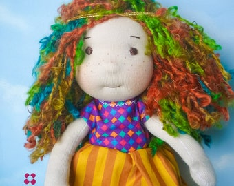 Decorative doll, muneca, boneca de pano, doll