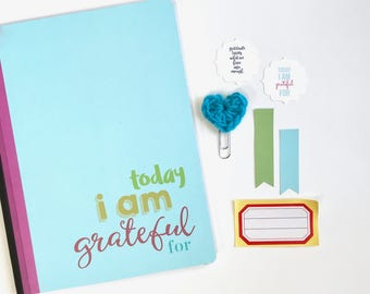 Gratitude Journal, Today I Am Grateful For, Composition Book, Grateful Notebook, Blessings Diary . Thankful Blessings Faith Mindfulness Book