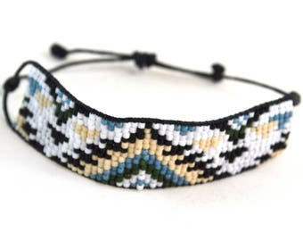 Southwest Bracelet - Adjustable - Bracelet - Single Wrap
