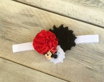 Last One Minnie Mouse Inspired Headband Infant to Adult sizes