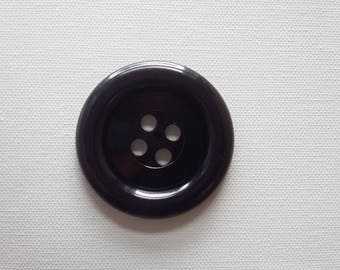 Sale - Extra Large Button - Black was 3.00 now 1.50