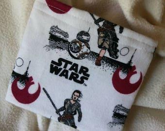 "Reusable Sandwich Bag, Reusable Snack Bag, Party Favor, Grab Bag Gift, Teacher Gift ""New Star Wars Characters"""