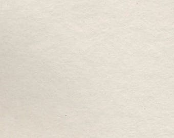 ALL Handmade Paper 11x14 - All Purpose, All Media Natural White Art Paper