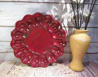 Red Velvet Haze Deviled Egg tray