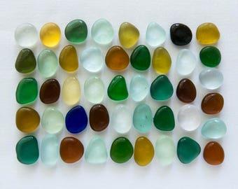 English Sea glass - Colours - Lot DC1118
