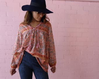 Indian voile blouse