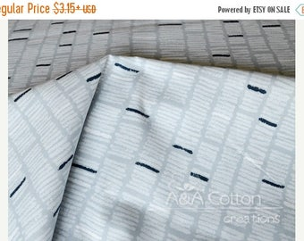 ON SALE Organic Cotton Fabric, Quilting Weight textile, Chalk Gray from Cloud9, Certified Organic Cotton
