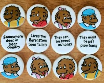 One Dozen Berenstain Bears Sugar Cookie