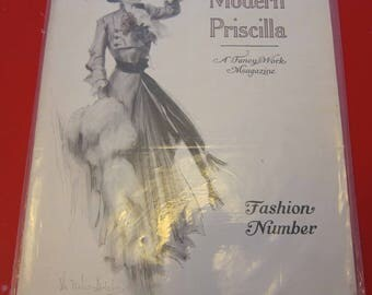 Magazine, Antique, Vintage, Fashions, Ads and Lots More: 1909, The Modern Pricilla
