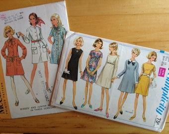 McCall's 9572 and Simplicity 7748