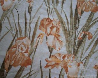 Fabric acrylic flowers iris (5)