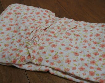 vintage bedding remix fulldouble fitted flannel bottom sheet