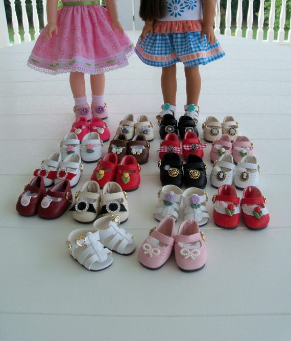 Wellie Wisher Shoes / Custom Made to your Specs/ Doll Accessories for American Girl Wellie Wishers® or Hearts4Hearts