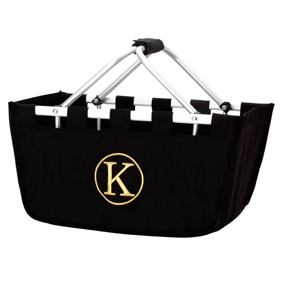 Large Market Tote in Black