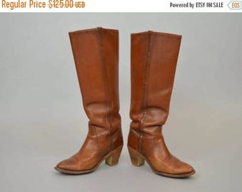 SUMMER SALE FRYE Leather Campus Boots (Us 6)