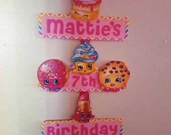 Shopkins Party Sign