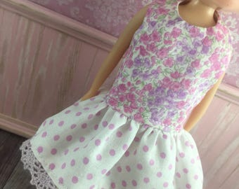 Blythe Drop Waist Dress - Pretty Floral