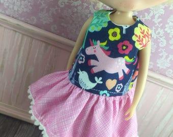 Blythe Drop Waist Dress - Little Unicorn