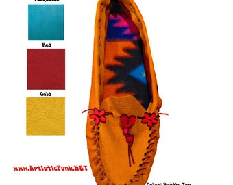 Moccasins, Leather Moccasins, Soft Leather Moccasins, Cool Moccasins, Indian Moccasins, Moccasin Slippers, Womens Moccasins, Boho