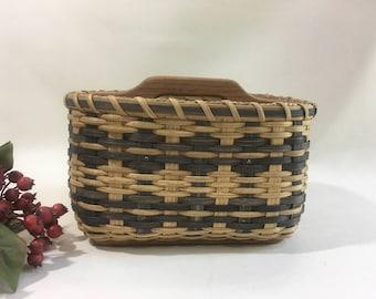 Paper Plate-Silverware Basket/ Divided Basket / Organizer Basket-Large