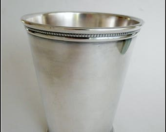 Vintage Mint Julip Cup Silverplate International Silver Co.  circa 1940s