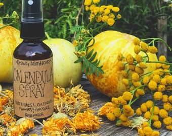 CALENDULA spray Witch Hazel varicose veins TONER