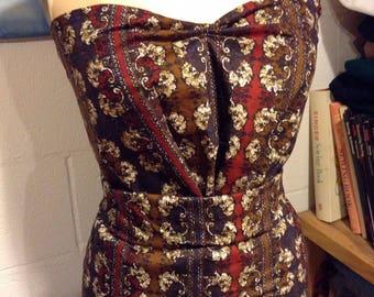 Millworth Batik Dyed Vintage Cotton Fabric Yardage 2 + Yards Free Shipping